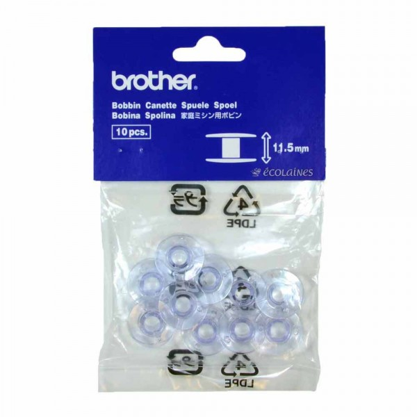 10 Canettes plastiques Brother