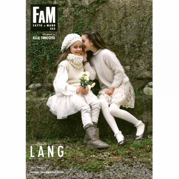 Catalogue Lang Yarns n°222 - Elle tricote