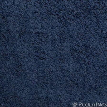 Tissu éponge 360g/m² Bleu marine