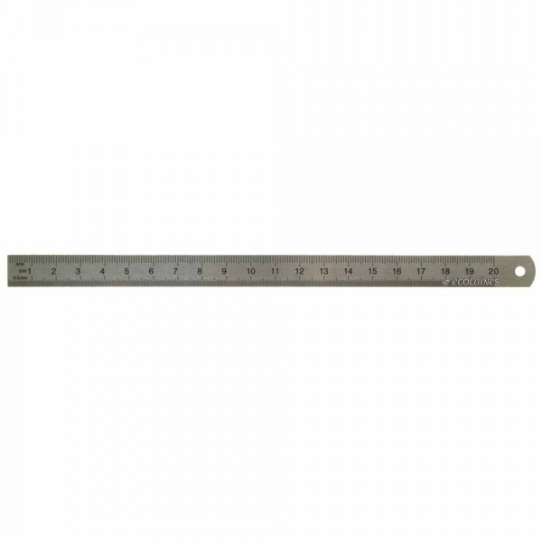 Règlet métal 20 cm