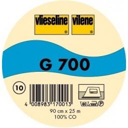 Toile thermocollante G 700 Noir Vlieseline