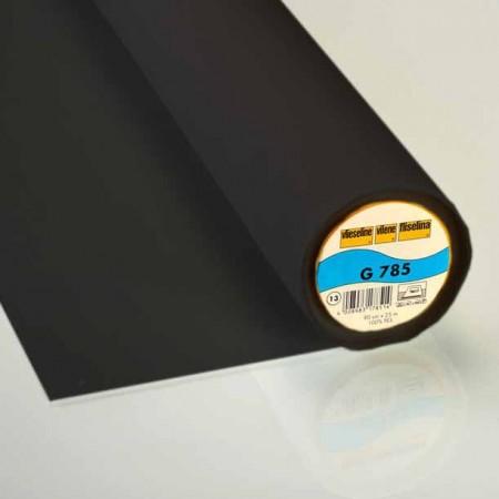 Toile thermocollante G 785 extensible Noir Vlieseline