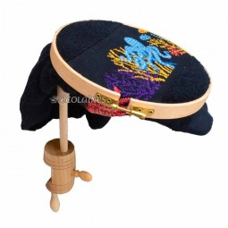 Tambour à broder fixation table 20 cm