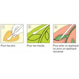 Spatule Hera - Marqueur pour appliqué Clover