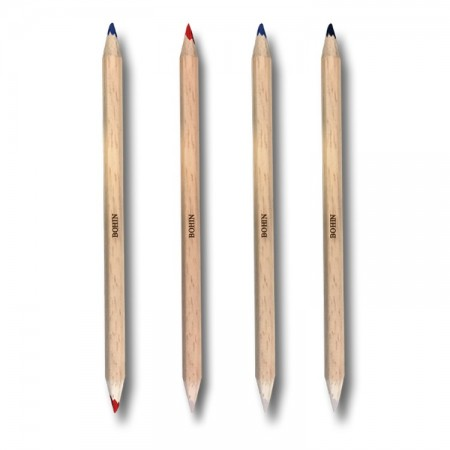 Crayon craie bicolore Bohin