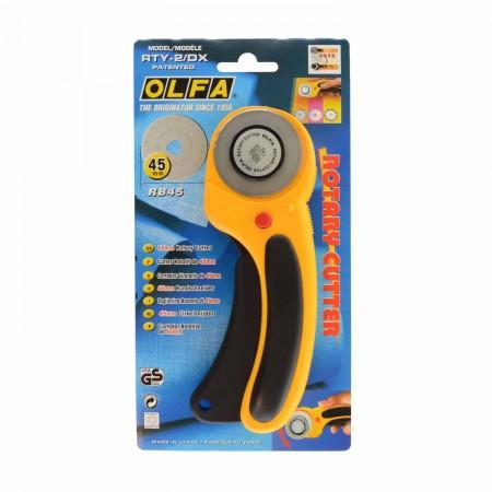 Cutter rotatif 45 mm sécurité Olfa
