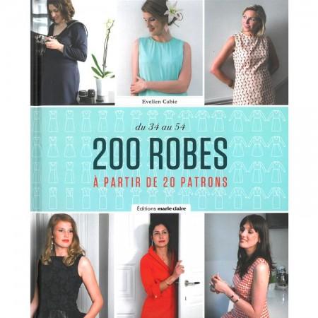 Livre : 200 robes - A partir de 20 patrons