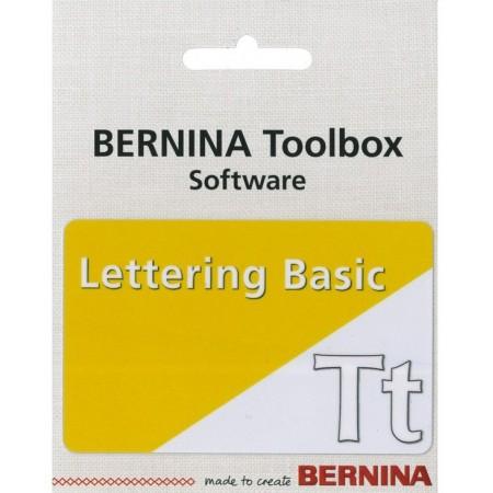 Logiciel de broderie Bernina Toolbox Lettrage de base