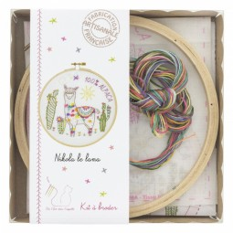 Kit de broderie - Nikola le lama