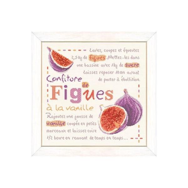Fiche de broderie Lilipoints : Confiture de figues