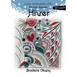 Kit de broderie : Coffret Glazig - Hiver