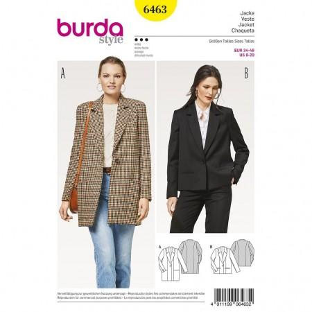 Patron Burda 6463 - Blazers