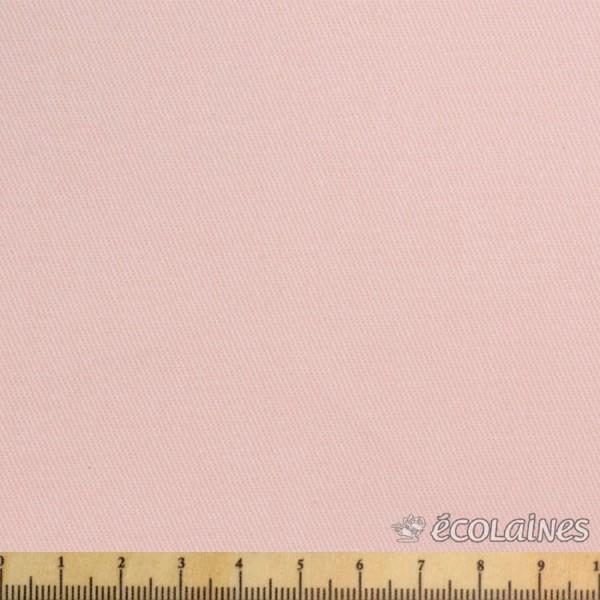 Tissu gabardine - Rose flamant