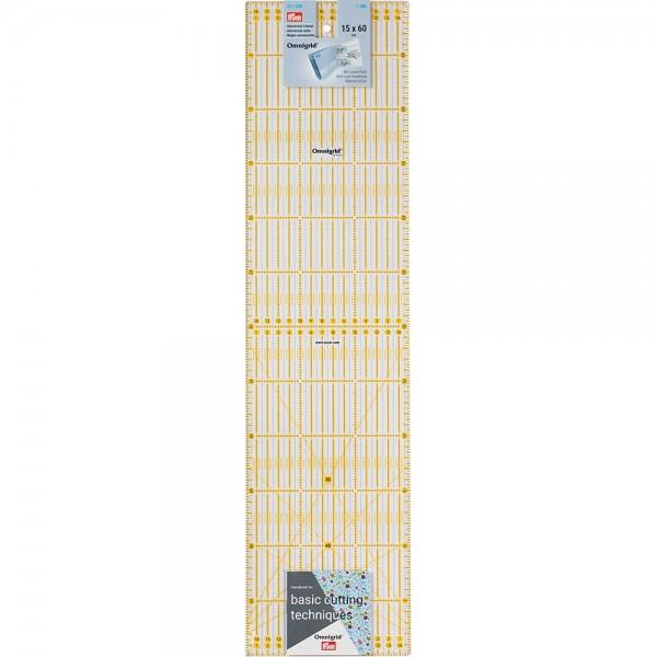 Règle de patchwork Omnigrid 15 x 60 cm