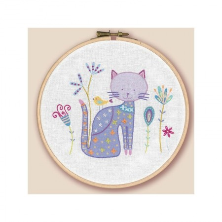 Kit de broderie - Ying le chat