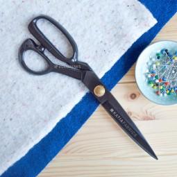 Ciseaux tailleur noirs 28 cm Katia fabrics