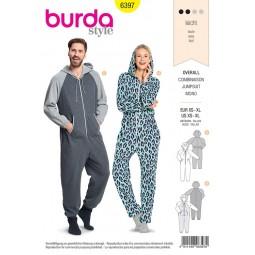 Patron Burda 6397 - Combinaison