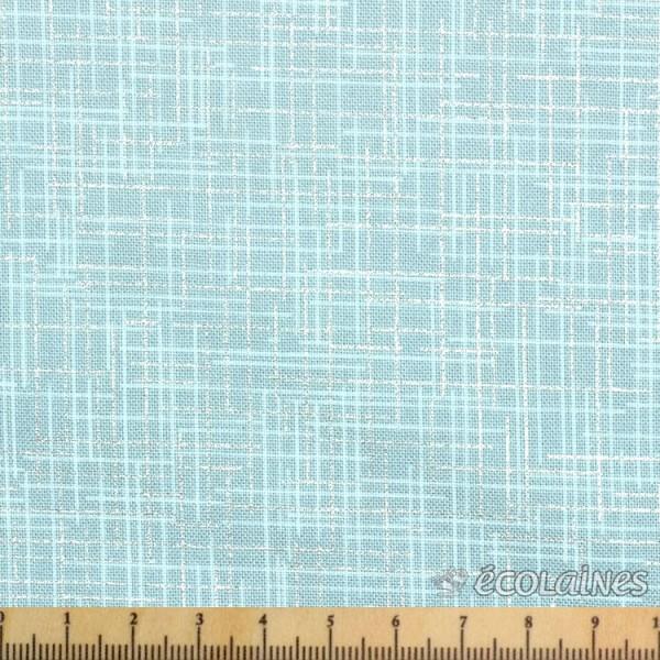 Tissu fantaisie - Quilter's linem metallic frost