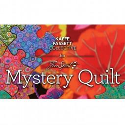 Quilt mystère 2018 Kaffe Fassett - Foncé