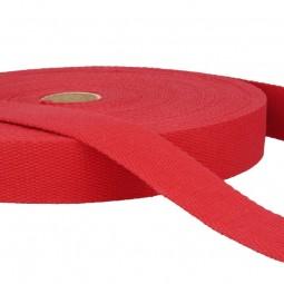 Sangle coton 30 mm - Rouleau entier 20 m