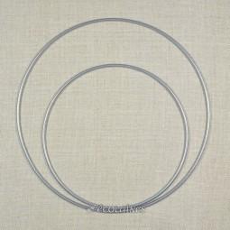 Cercle métal nu attrape-rêves Argent
