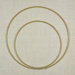 Cercle métal nu attrape-rêves Doré