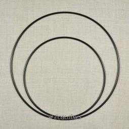 Cercle métal nu attrape-rêves Noir