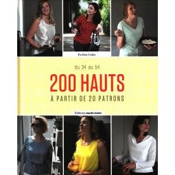 Livre : 200 hauts - A partir de 20 patrons