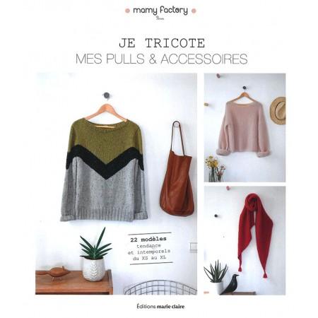Livre : Je tricote mes pulls et accessoires
