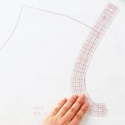 Règle courbe avec mini règle