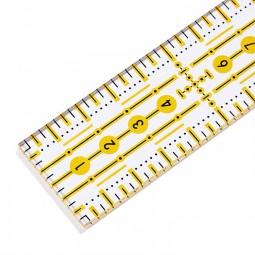 Règle de patchwork Omnigrid 3 x 30 cm