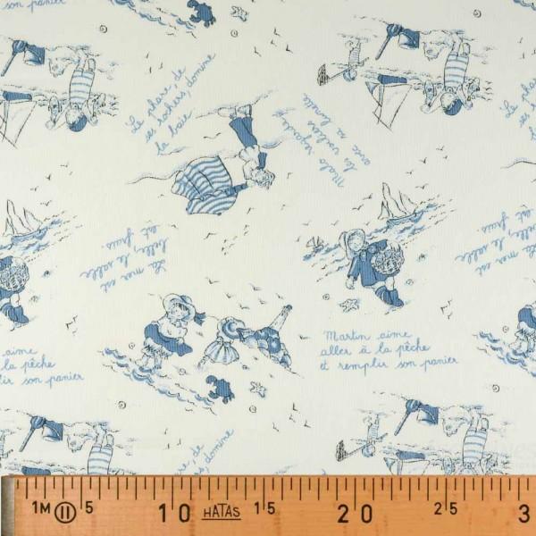 Tissu piqué de coton Malo