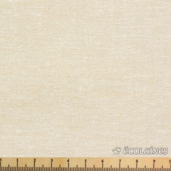 Tissu coton - Chambray beige