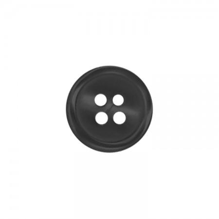 Bouton - Pastille noir