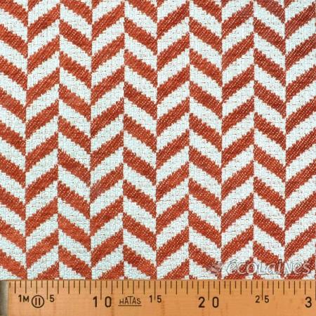 Tissu d'ameublement - Claveria orange