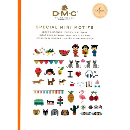 Livre DMC Point de croix - Spécial Mini motifs