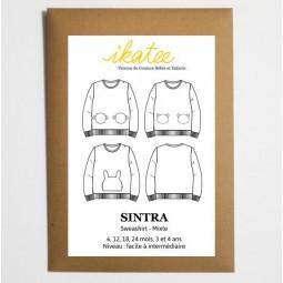 Patron Ikatee - Sweat Sintra 6 mois - 4 ans