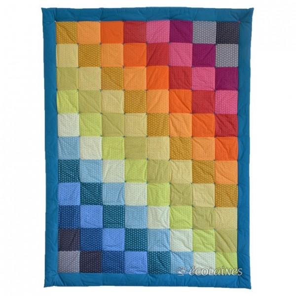 Kit de patchwork : Plaid Arc en ciel