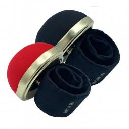 Porte épingles bracelet ajustable velours Bohin