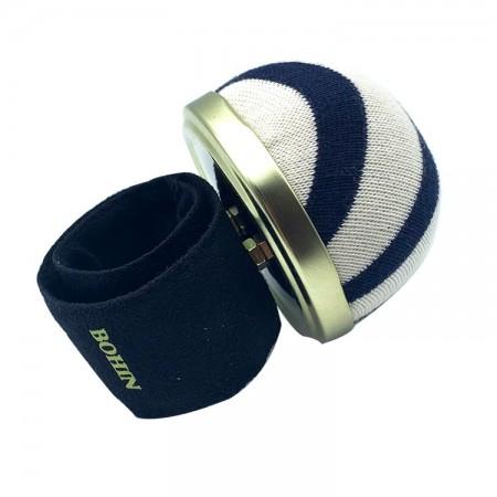 Porte épingles bracelet ajustable Marinière Bohin