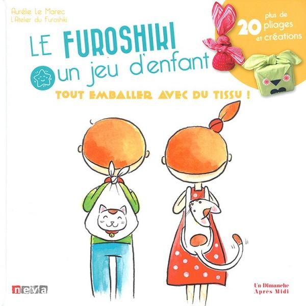 Livre : Le furoshiki un jeu d'enfant