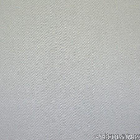 Tissu gabardine - Satin de coton gris clair