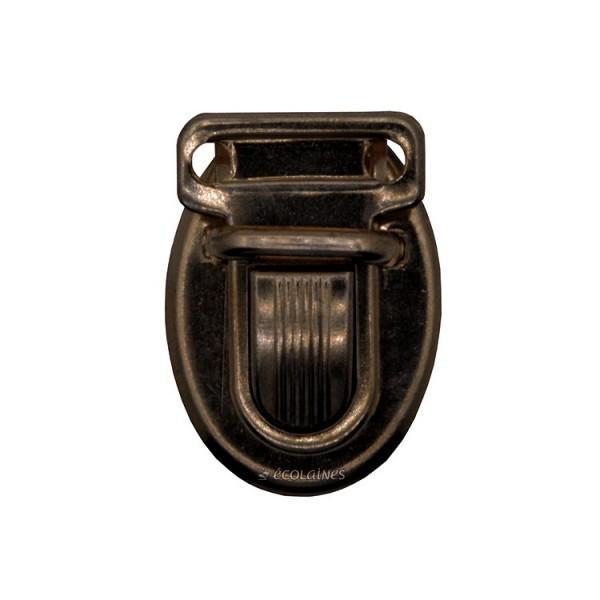 Fermoir cartable bronze