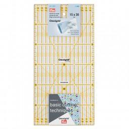 Règle de patchwork Omnigrid 15 x 30 cm