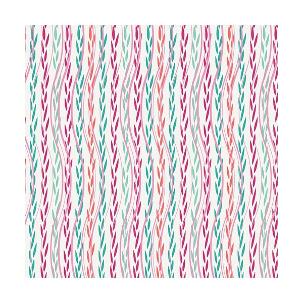 Art Gallery Fabrics - Splendid fusion - Feafy ribbons