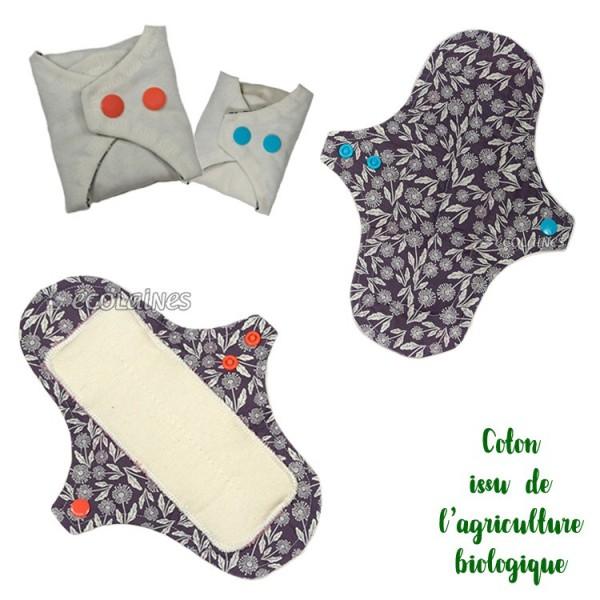 Kit de couture : Mes protections lavables en tissu Bio