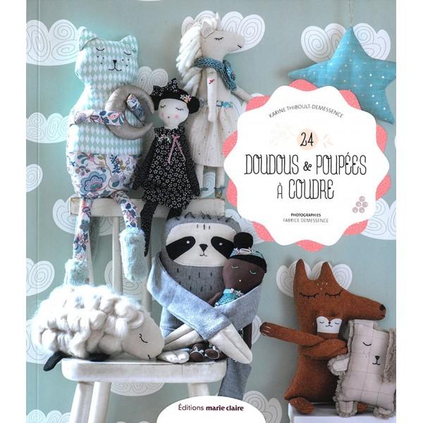 Livre : 24 doudous et poupées à coudre