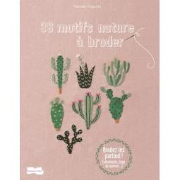 Livre : 38 motifs nature à broder