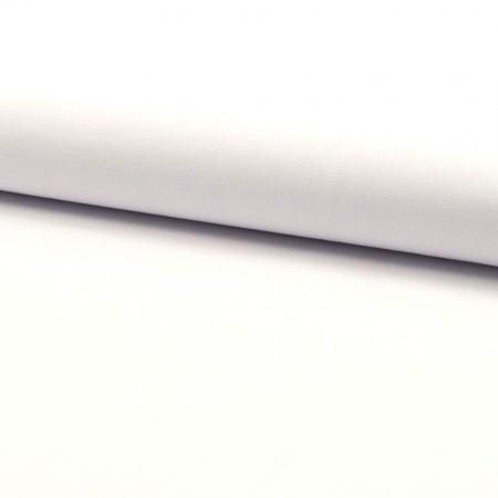 Tissu popeline coton unie - Blanc