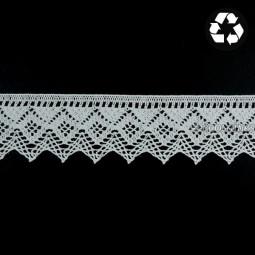 Dentelle blanche Philémonde - Coton bio et recyclé